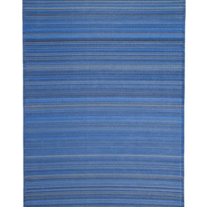 BLUE STRIPE POLYPROPELENE MAT 180X120CM