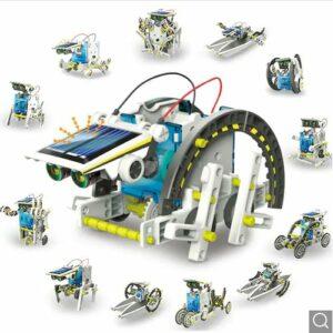 13 In 1 Solar Robot Kit
