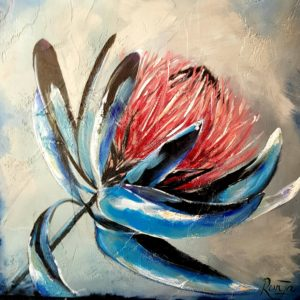King Protea Painting
