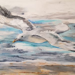 Seagull Painting 1