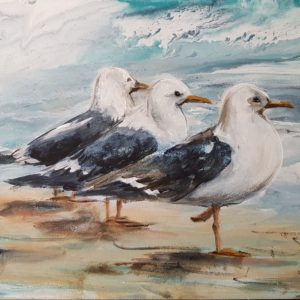Seagull Painting 2