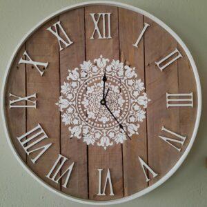 Wall Clock, 60 CM Roman Numbers