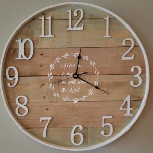 Wall Clock, 60 CM Numbers