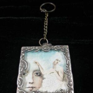 Key Ring – Antique Square