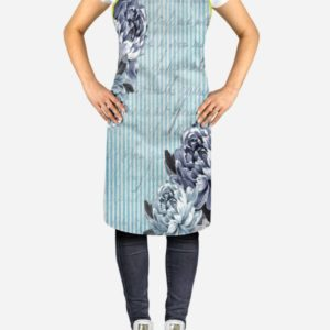 Blue Flowers Apron