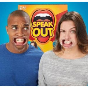 Speak Out The Laughing Board Game