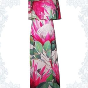 Protea Bardot Dress