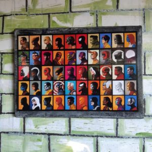 Marvel Comics Characters Poster