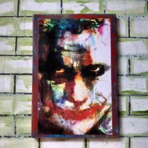 Heith Ledger Joker Poster