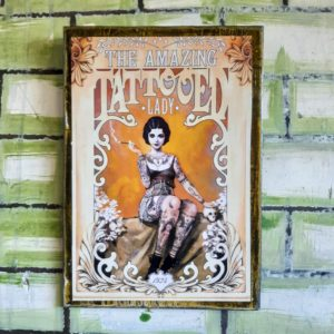 Tattooed Lady Poster