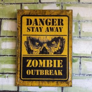 Zombie Outbreak Poster