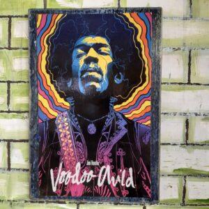 Jimi Hendrix Voodoo Child Poster