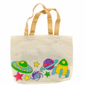 Fabric Paint Kit Bag- Space