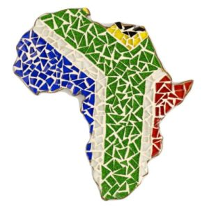 Mosaic Kit Africa In SA Flag Colours