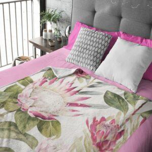 Protea Fleece Blanket
