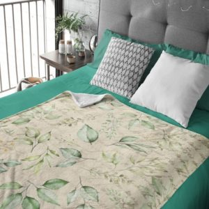 Eucalyptus Fleece Blanket
