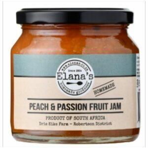 Elana's Homemade Peach & Passion Fruit Jam 300g