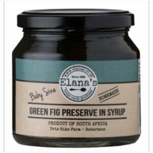 Elana's Homemade Baby Green Fig Preserve 300g