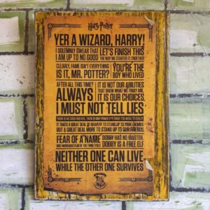 Harry Potter – Yer A Wizard, Harry! Poster