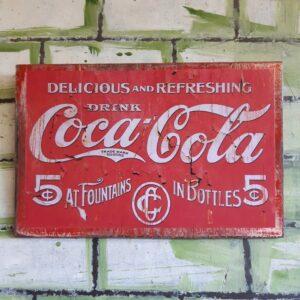 Coca-Cola Vintage Poster