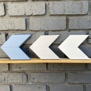 Wooden Arrow Set