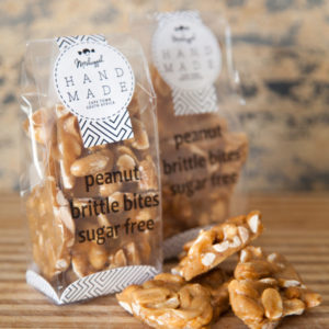 Sugar Free Peanut Brittle (Crunchy Butterscotch Brittle Full Of Giant Roasted Peanuts) 100g Of Energy & Crunch!