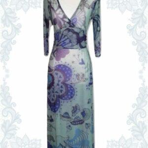 Purple Bliss Empire Dress