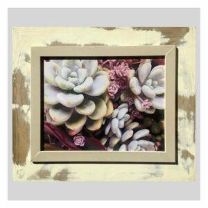 Distressed Frame: Fyn Kaktus Rosies
