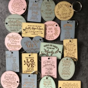 KEYRING SCRIPTURE BUNDLE 50