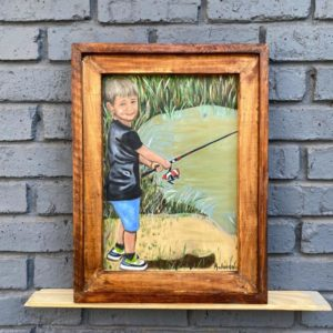 Wooden Frame – Rustic