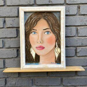 Wooden Frame – Whitewashed