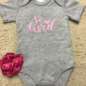 Baby Onesie – So Loved
