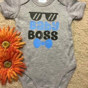 Baby Onesie – Baby Boss