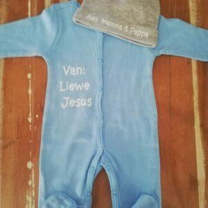 Liewe Jesus Babygrow Set