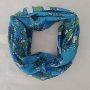 Buff – Blue And Green Floral