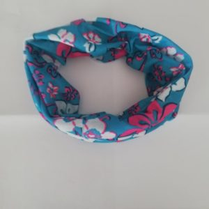 Buff – Pink And Blue Flowers