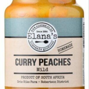 Elana's Homemade Mild Curry Peaches 400g