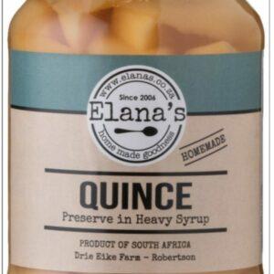 Elana's Homemade Quince Slices 1 Litre