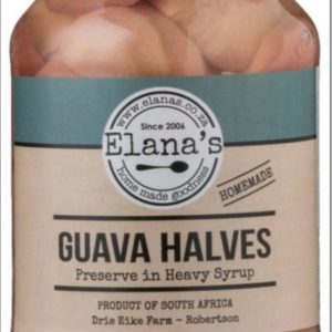 Elana's Homemade Guava Halves 1 Litre