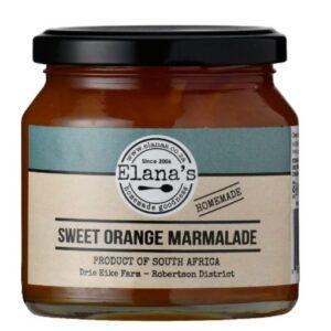 Elana's Homemade Sweet Orange Marmalade 300g