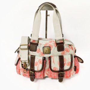Cotton Road 2 Pocket Material Dandelion Hand Bag