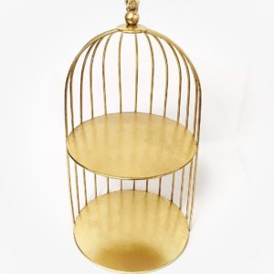 BIRD CAGE DISPLAY STAND