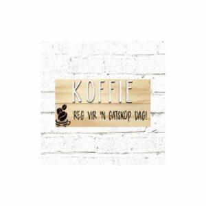 Koffie Board: Reg Vir Gatskop