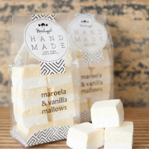 Maroela & Vanilla Double Layered Marshmallow Squares – 160g (8x Double Mallows In A Bag) Double The Flavour, Double The Deliciousness.