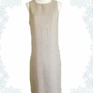 Linen-Look Dress