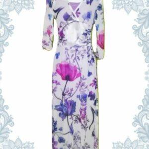 Spring Blossom Empire Dress