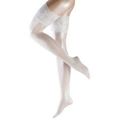 White Lace Stay-Ups Stockings