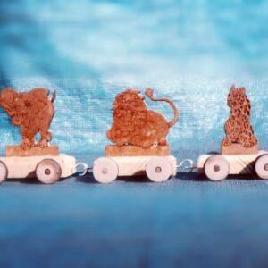 Big 5 Wooden Train