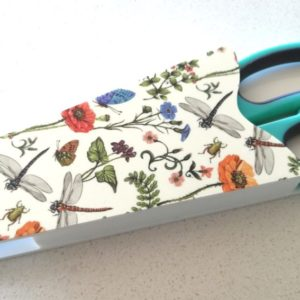 Scissor Holder – Floral & Butterfly