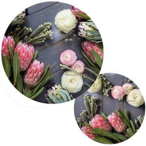 Protea Potstands Set Of 2 (Flora Glory)